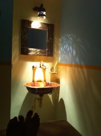 Riad Dar Tafilalet: sala de masaje