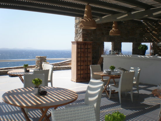 Rocabella Mykonos Art Hotel & SPA: Breakfast areaA
