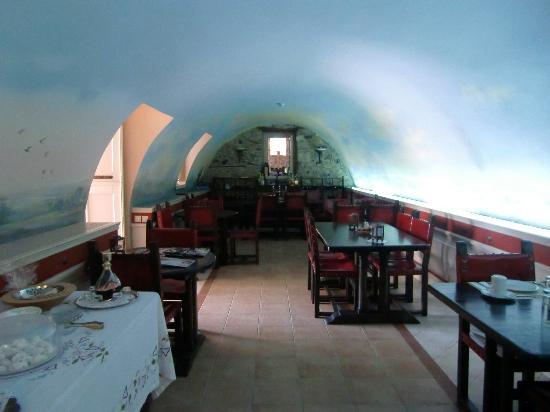 Hotel Pyrgos Mystra : Salle petit déjeuner