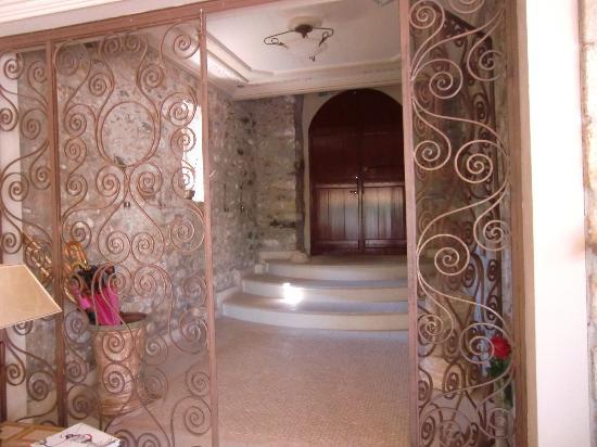 Hotel Pyrgos Mystra : Entrée