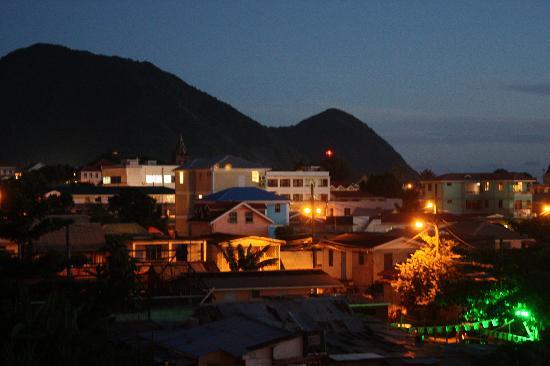 Narakiel's Inn : view from balcony at Narakiel's