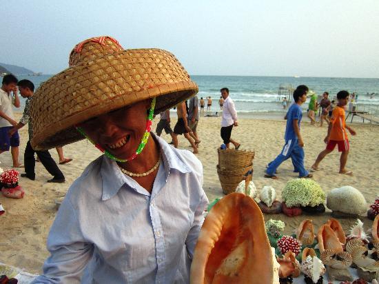 Hainan Museum : Hawker at Boao Beach
