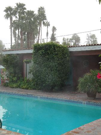 Villa Rosa Inn: That pool is heated!