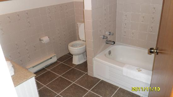Howard Johnson Inn Gananoque: The bathroom