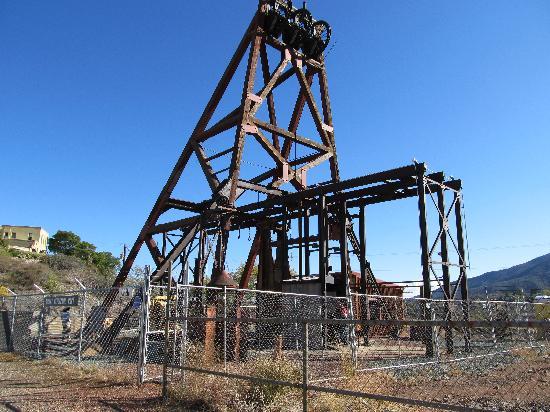 Jerome Historical Society Mine Museum: Daisy Shaft