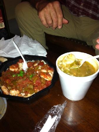 Coop's Place: Coop's Gumbo & Shrimp Creole