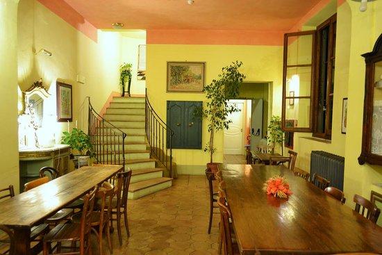 Hotel Azzi - Locanda degli Artisti: Breakfast Room
