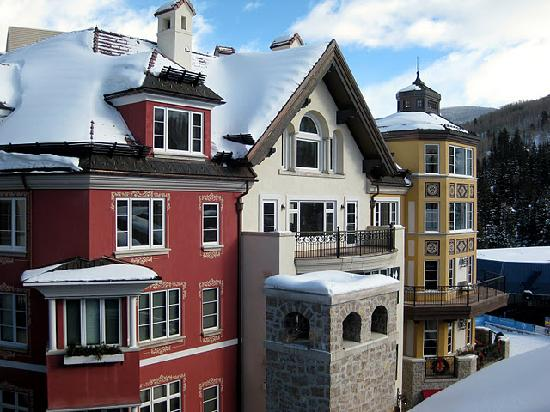 Arrabelle at Vail Square, A RockResort : Lionshead from the Roof Deck