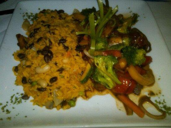 Barcelona Restaurant: rice and beans