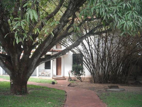 Mwembe Resort: Entrance to room #6