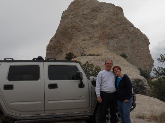 Black Diamond Hummer Tours: Dave and Vanessa 40th Anniversary