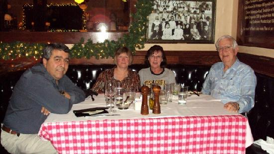 Maggiano's Little Italy: our table