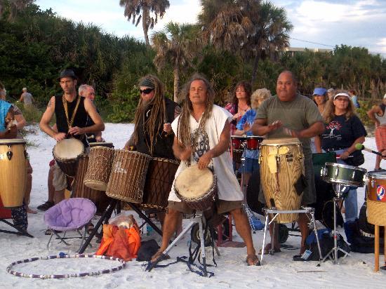 Siesta Key, FL: Drummers