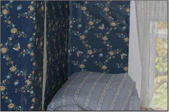Hilltop Inn : Peeling Wallpaper