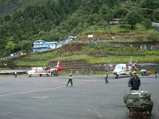 Kathmandu, Nepal: Lukla Airport