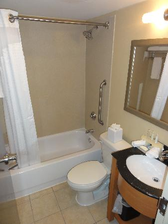 Holiday Inn Express New York City Times Square: Standard bathroom