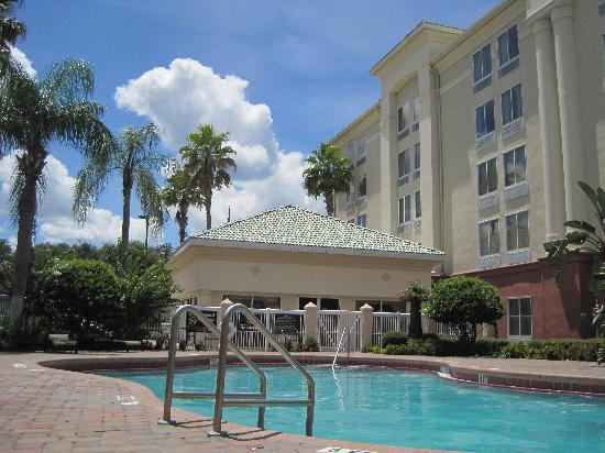 Hampton Inn Orlando/Lake Buena Vista: The pool