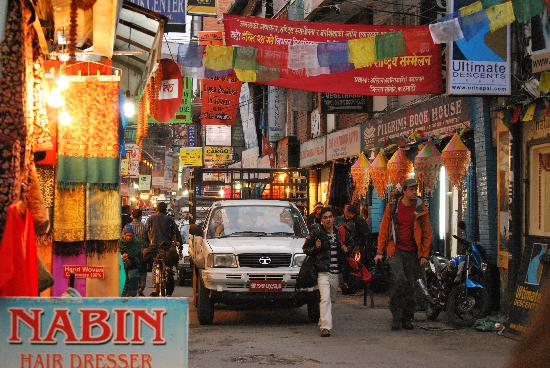 Malla Hotel: Love the bustle of Thamel