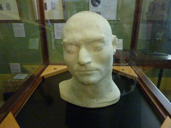 Beechworth, ออสเตรเลีย: Ned Kelly death mask