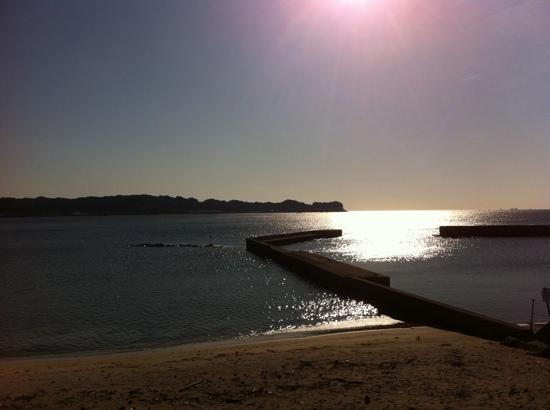 Country Inn Kakui: Great fishing spot too...