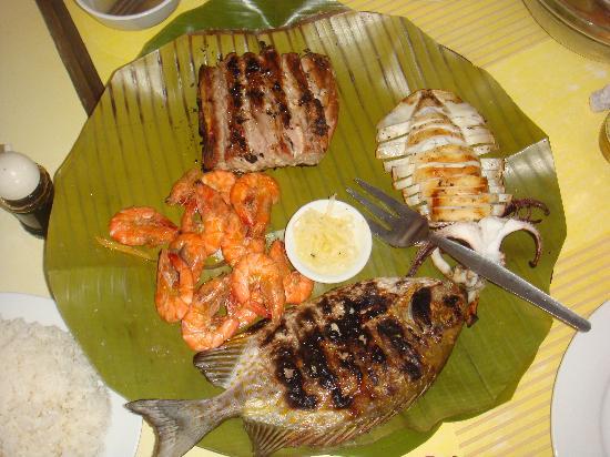 Panagatan Seafoods Restaurant: Seafood Platter