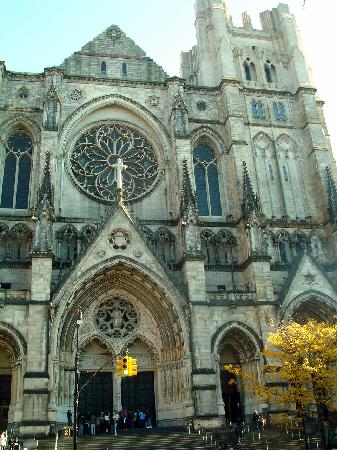 Cathedral Church of Saint John the Divine: The Cathedral Church of St John the Divine