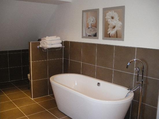 Loire Valley Retreat: on of the chateau's ensuite bathrooms