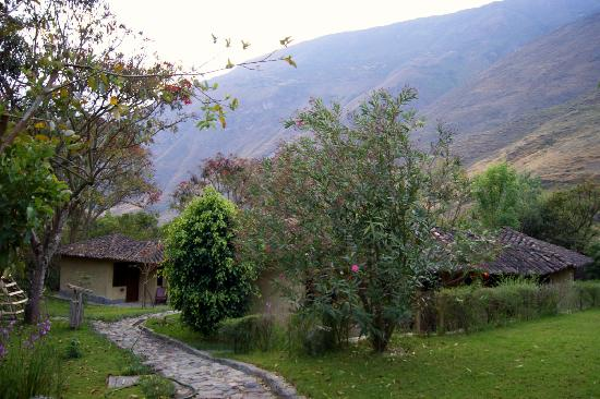 Villa Los Loros Choquequirao Lodge: A pic of a very little part of the garden