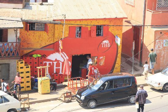 La Maison du Pyla: straatleven(leuk om te zien)