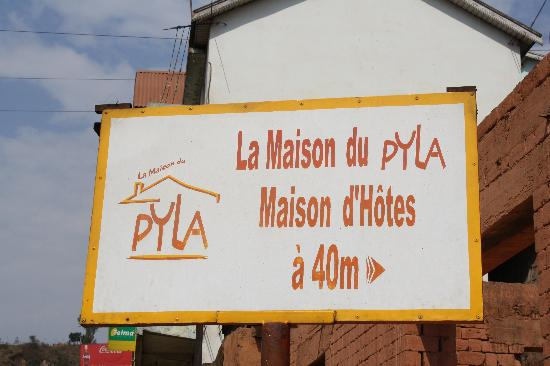 La Maison du Pyla: het bord