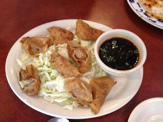 Shanghai Express: Fried dumplings