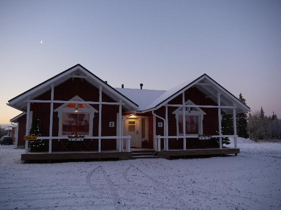 Santa Claus Holiday Village: CABAÑAS
