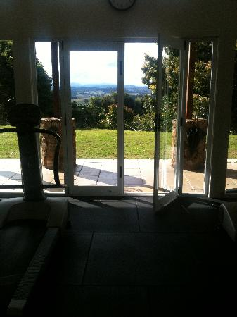 Gaia Retreat & Spa: View from the gym