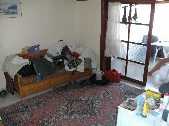 Villa Ozalp: De woonkamer