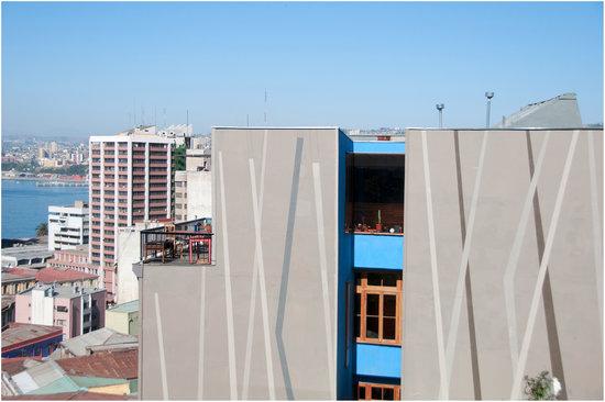Hotel Fauna: Vista desde paseo Dimalow