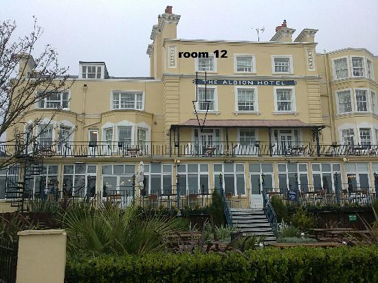 Royal Albion Hotel: room 12