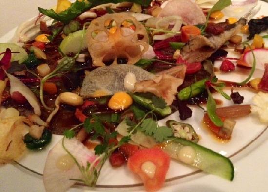 Arcana Izu: Appetizer of 60 vegtables