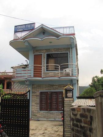 Pokhara Star Inn: Front Entrance
