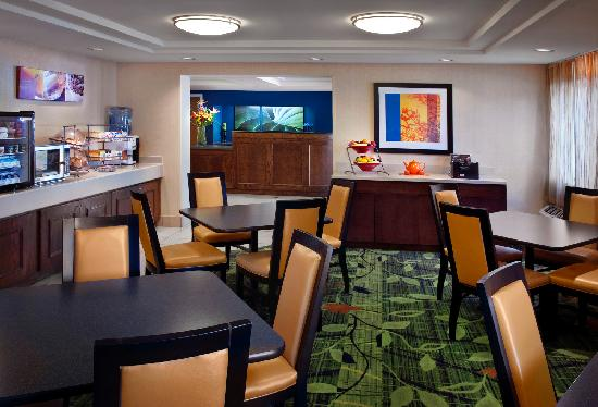 Fairfield Inn Amesbury: Continental Breakfast