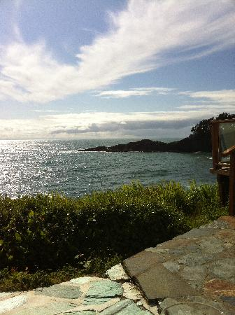 An Ocean Paradise Whales Rendezvous B&B: View from another private patio area