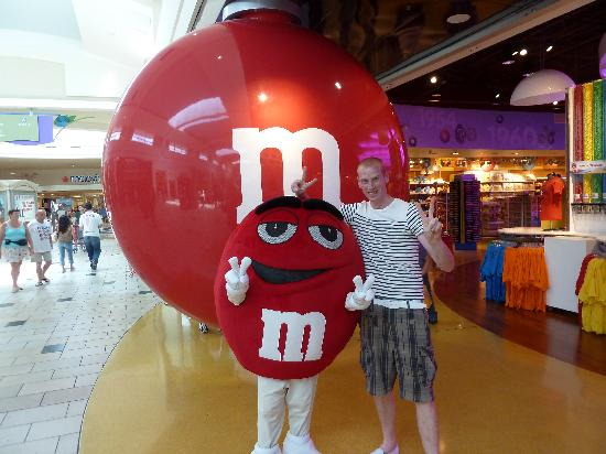 The Florida Mall: m&ms florida mall