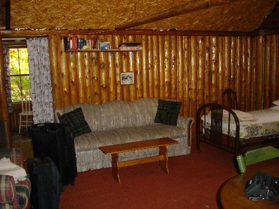 Beaver Cove Camps: Cabin, innen