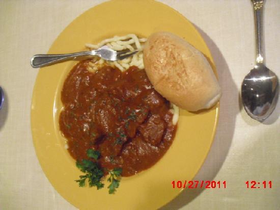 Bavarian Bakery & Cafe: Meal