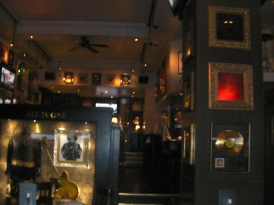 Hard Rock Cafe London: the inside