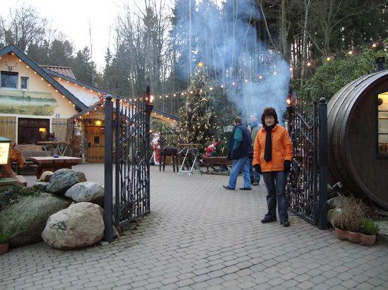 Bad Nenndorf, Allemagne : Der Eingang