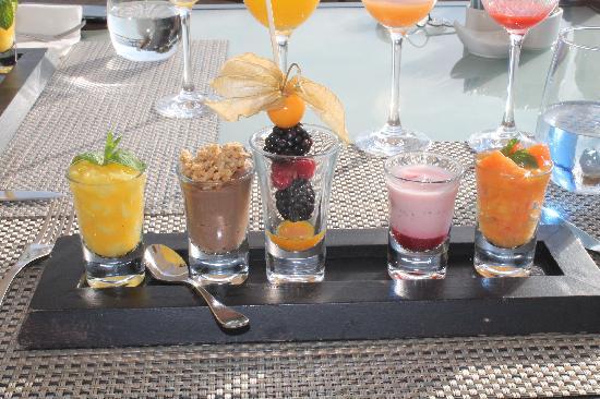 Hospes Maricel Mallorca & Spa: uno de los platos del desayuno maricel