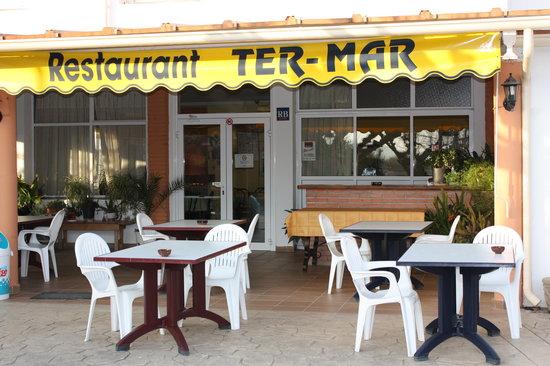restaurante ter-mar: entrada