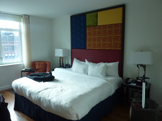 Hotel Indigo New York City, Chelsea: King bed room