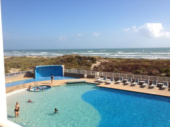 The Pool Area Picture Of Hilton Garden Inn South Padre Island South Padre Island Tripadvisor