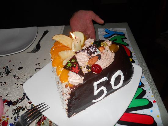 Jewel of the Nile: The wonderful cake.